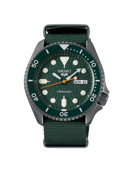 Seiko 5 Sport Green Army SRPD77K1 - orola.it