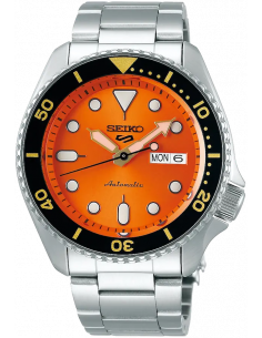 Seiko 5 Sport Orange Sunset SRPD59K1 - orola.it