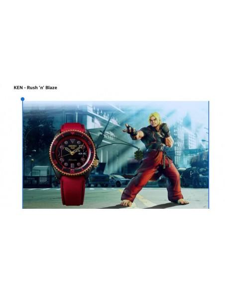 Seiko 5 Sport Street Fighter KEN SRPF20K1 - orola.it