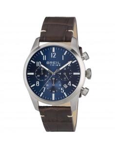 Breil Tribe Classic Elegance Extension cronografo pelle marrone blu