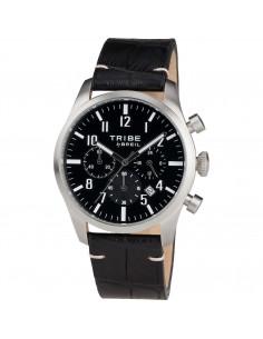 Breil Tribe Classic Elegance Extension cronografo pelle nero