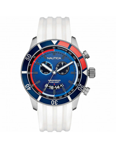 Nautica orologio cronografo Blu e bianco