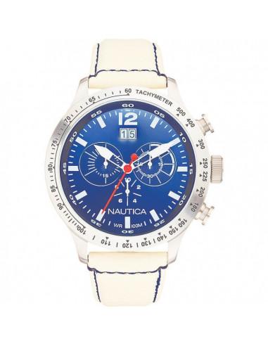 Nautica orologio cronografo bianco e blu